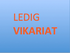 Ledig Vikariat