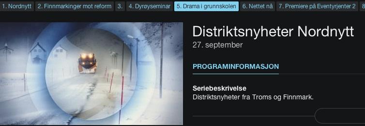 NRK Nordnytt filmet aksjonen på Harstad skole. Klikk for å se nyhetsinnslaget.