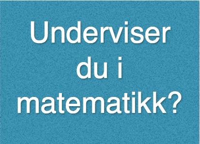 Stavanger: Gratis Inspirasjonskurs. Drama Som Læringsform I Matematikk